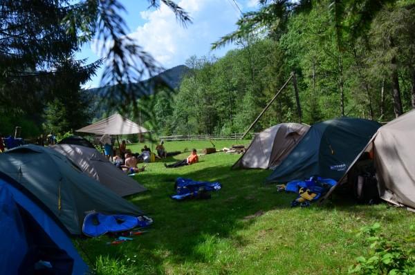 палаточный лагерь Черемош